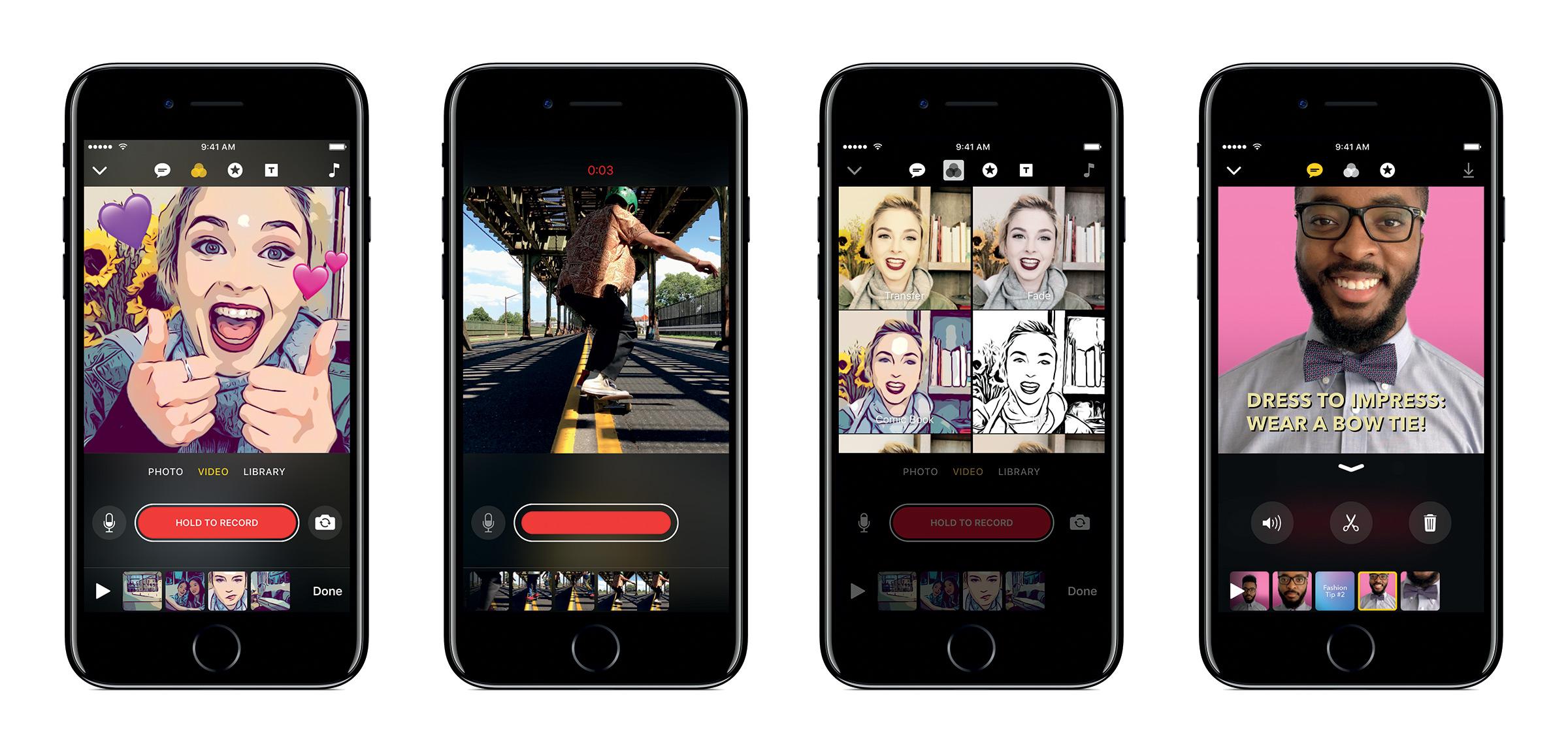 Apple yeni uygulaması Clips 'i tanıttı…