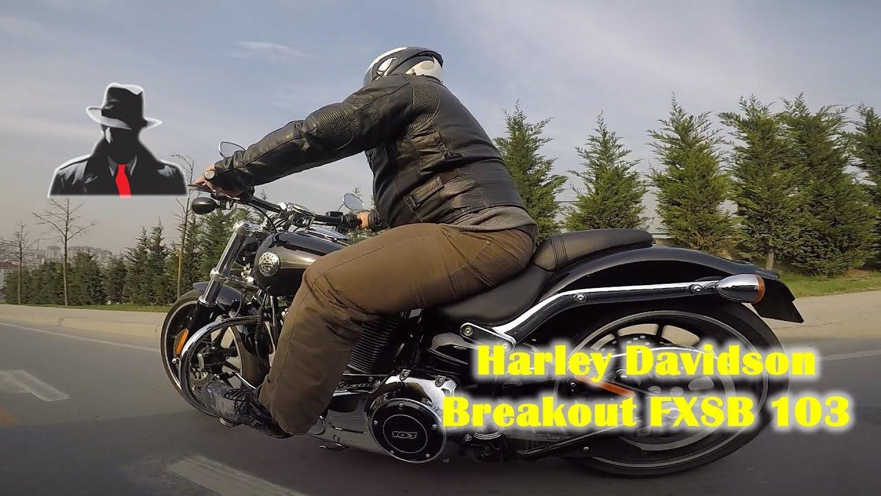 Harley-Davidson Softail Breakout 2015 103 Cubic İnceleme
