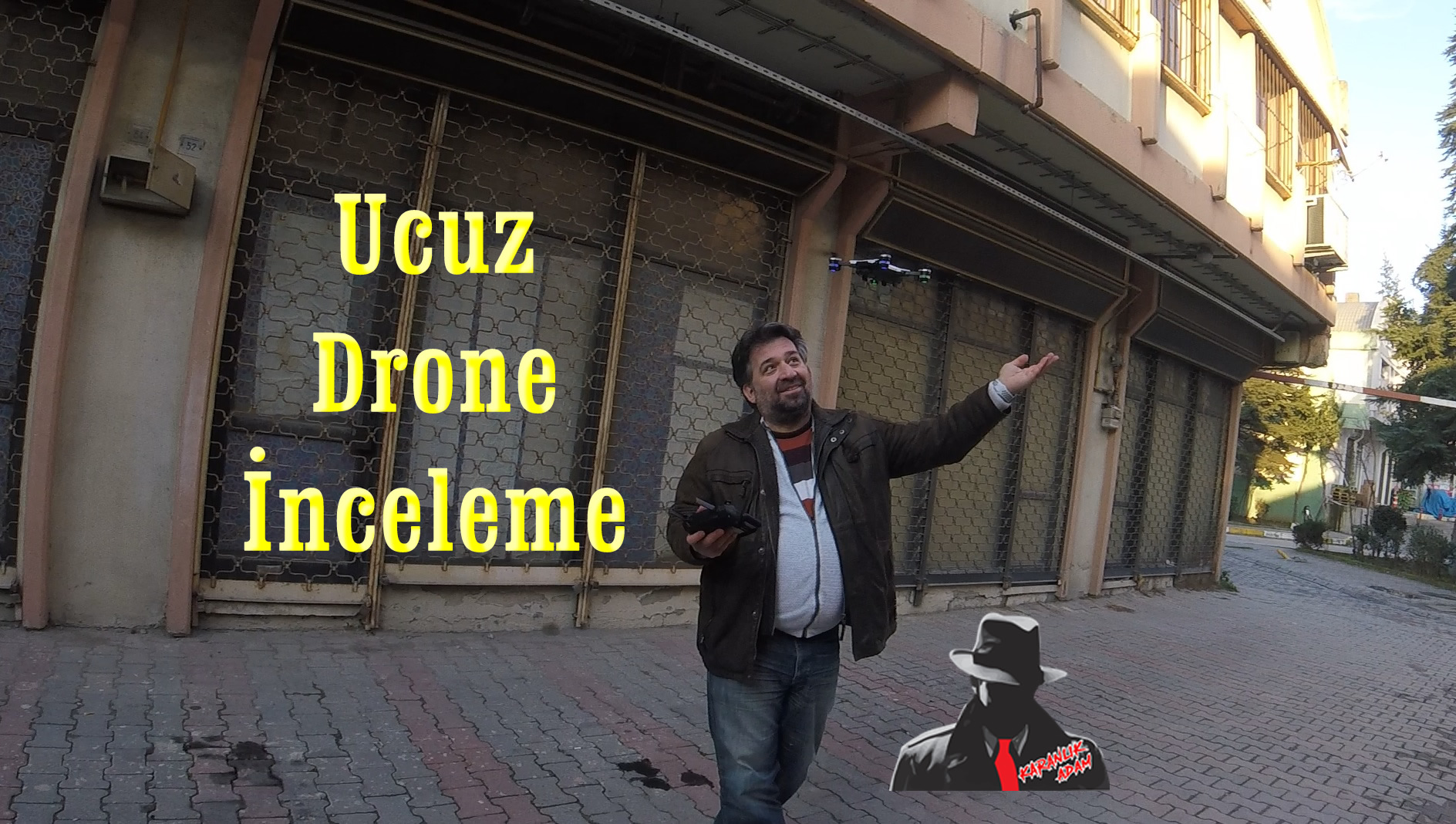 JDRC JD-20 JD20 Wifi 2 MP uygun fiyatlı drone inceleme ve başımıza gelenler
