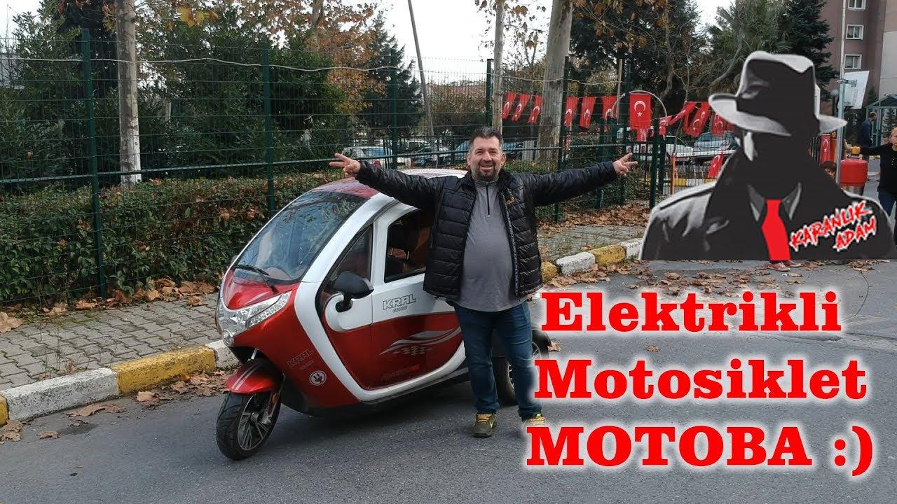 Elektrikli motosiklet MOTOBA çok keyifli çılgın bir yolculuk :)